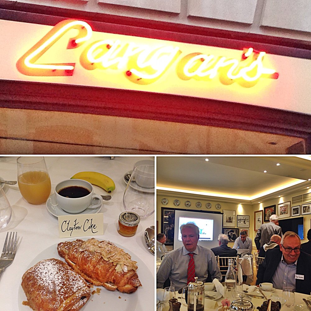 7.30 am - Breakfast at Langan'sHyman Capital Business Debt Briefing