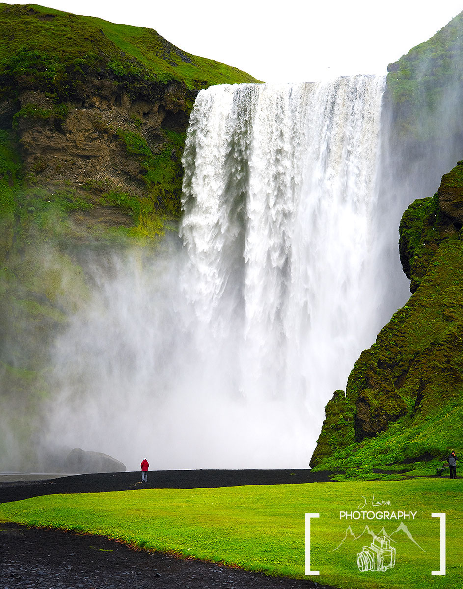 Skogafoss, Iceland. Iceland Photography, Photo Credit: Jared Lawson