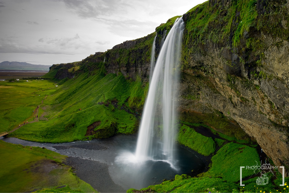 Seljalandsfoss, Iceland.  Photo Credit: Jared Lawson Photography