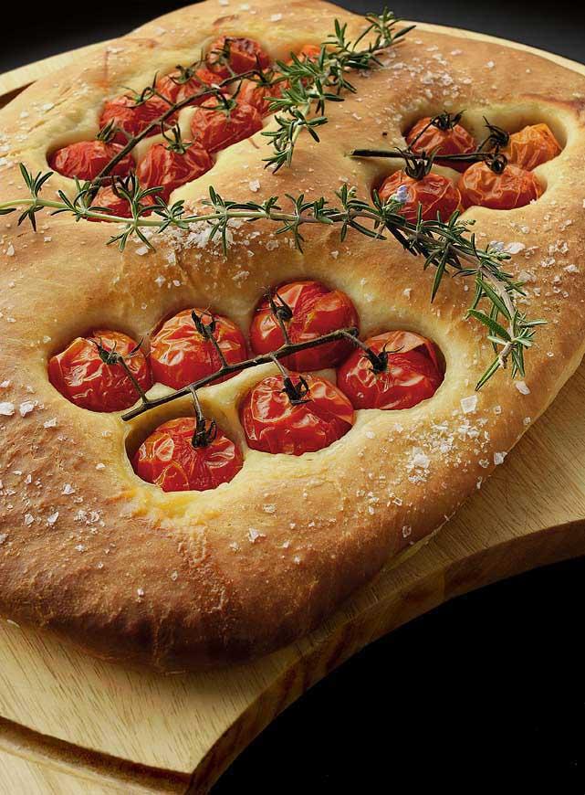 Tomato & Rosemary Bread