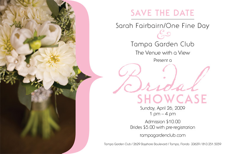 Tampa Garden Club Bridal Show
