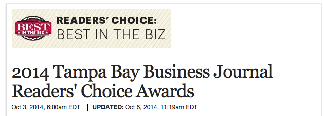 2014 TBBJ Readers' Choice