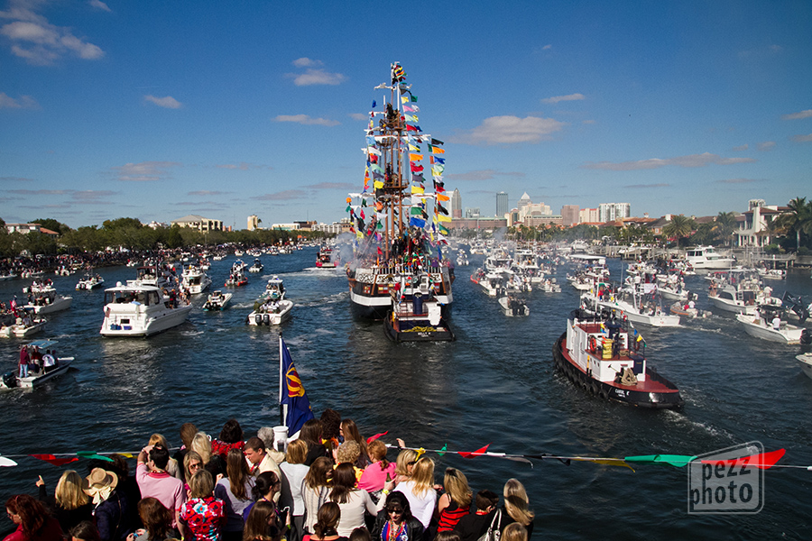 flashback to 2011 when I covered the Queen of Gasparilla's day at the parade