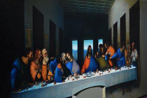 The Last Supper Leonardo Da Vinci Ghenadie Sontu Fine Art