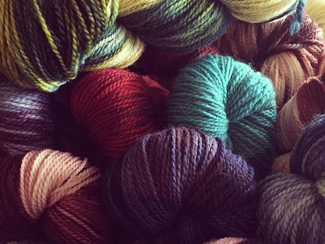 Give the Gift of Local Farm Yarn!!