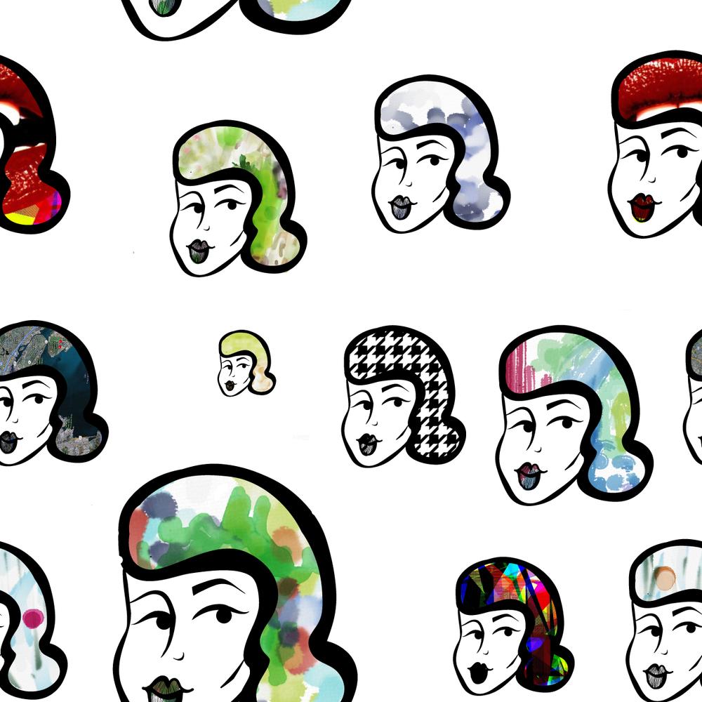 Seamless Pattern | Adobe Ideas + Illustrator
