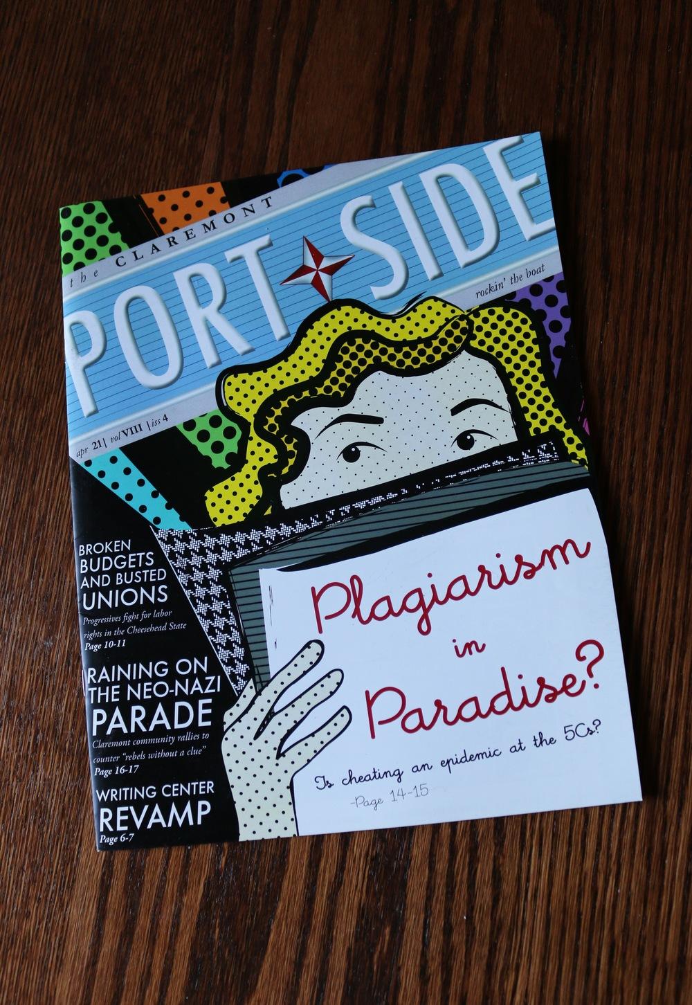 Port Side Magazine Cover | Illustrator