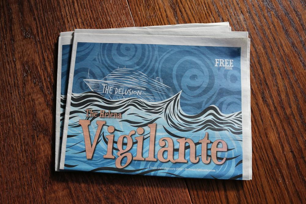 Helena Vigilante Cover | Illustrator