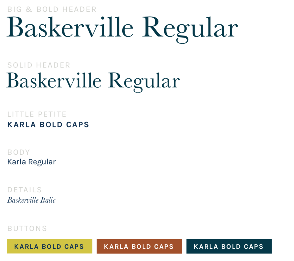 Que Serif, Serif. - I redesigned the typography around bold, oversized serif headlines paired with a fresh grotesque sans serif. This new direction sets Sussex apart from competitors — who favor conservative, masculine Typography.