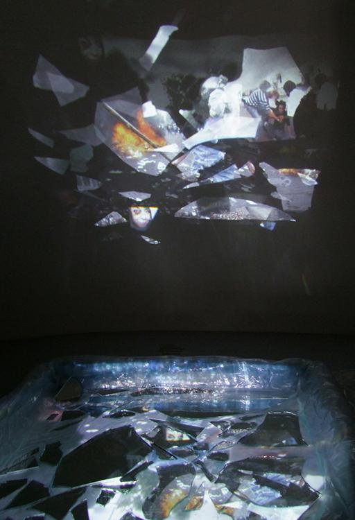 """Boundaries"" Installed, 2011."