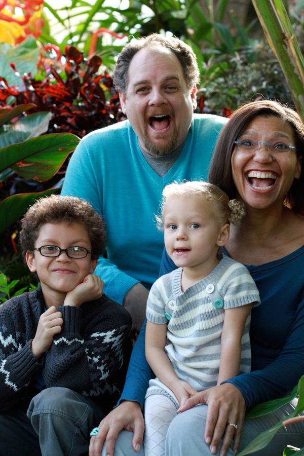 mmmmmpig: tueslife: Some of you may have heard of this campaign/effort/initiative that started after the racist backlash from the Cheerios ad.  We are the 15 Percent is a crowd-sourced collection of images of interracial families. I found myself smiling every time I saw the photos of families on the website and realized that I must be hungry to see my own experience - growing up and now in my own family - reflected. So…we sent in a photo but didn't want send in a lovey-dovey one.  We wanted one that reflected our silliness, our happiness, and our joyful love of each other.  And it was published today! wearethe15percent: Zane, Scott, Eily & Tuesday - Columbus, OH Woo-hooo! That's my family! Hey there 20 Questionites… Here is something internetty that happened to my fam!