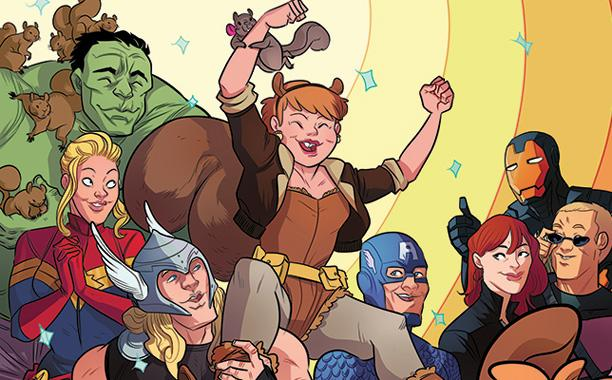 If you aren't reading the Unbeatable Squirrel Girl, you are doing yourself a disservice