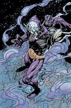 Eclipso.... looking menacing