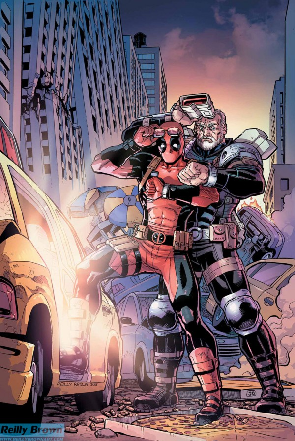 Reilly Brown's Cable and Deadpool