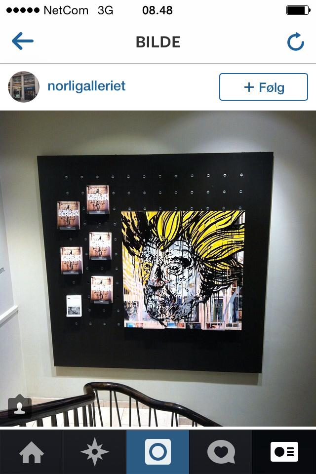 Bilde av John_xc på Norli Galleriet.