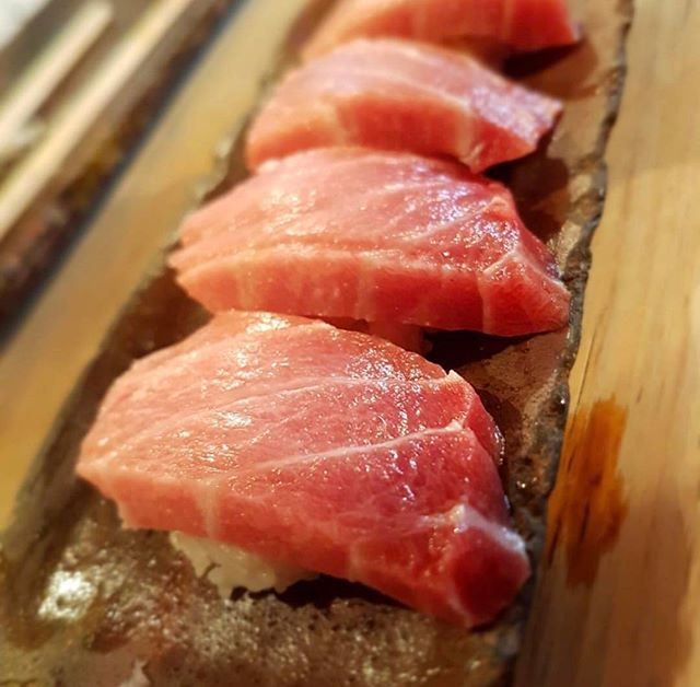 I like em real thick and juicy so gimme that toro 😋 #Osaka #otoro #toro