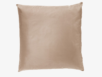 Habitat 'Jules' Old Gold silk cushion, £25