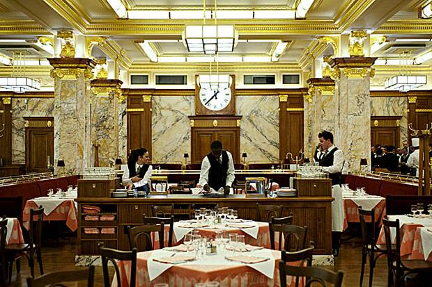 French Brasserie in the heart of London, Brasserie Zedel
