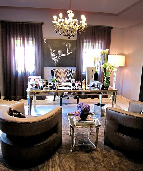 Khloe Kardashian and Lamar Odom's office