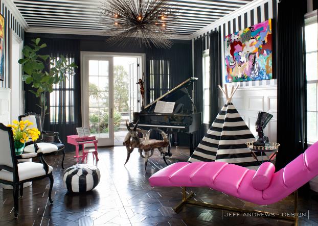 Kourtney Kardashian Living Area