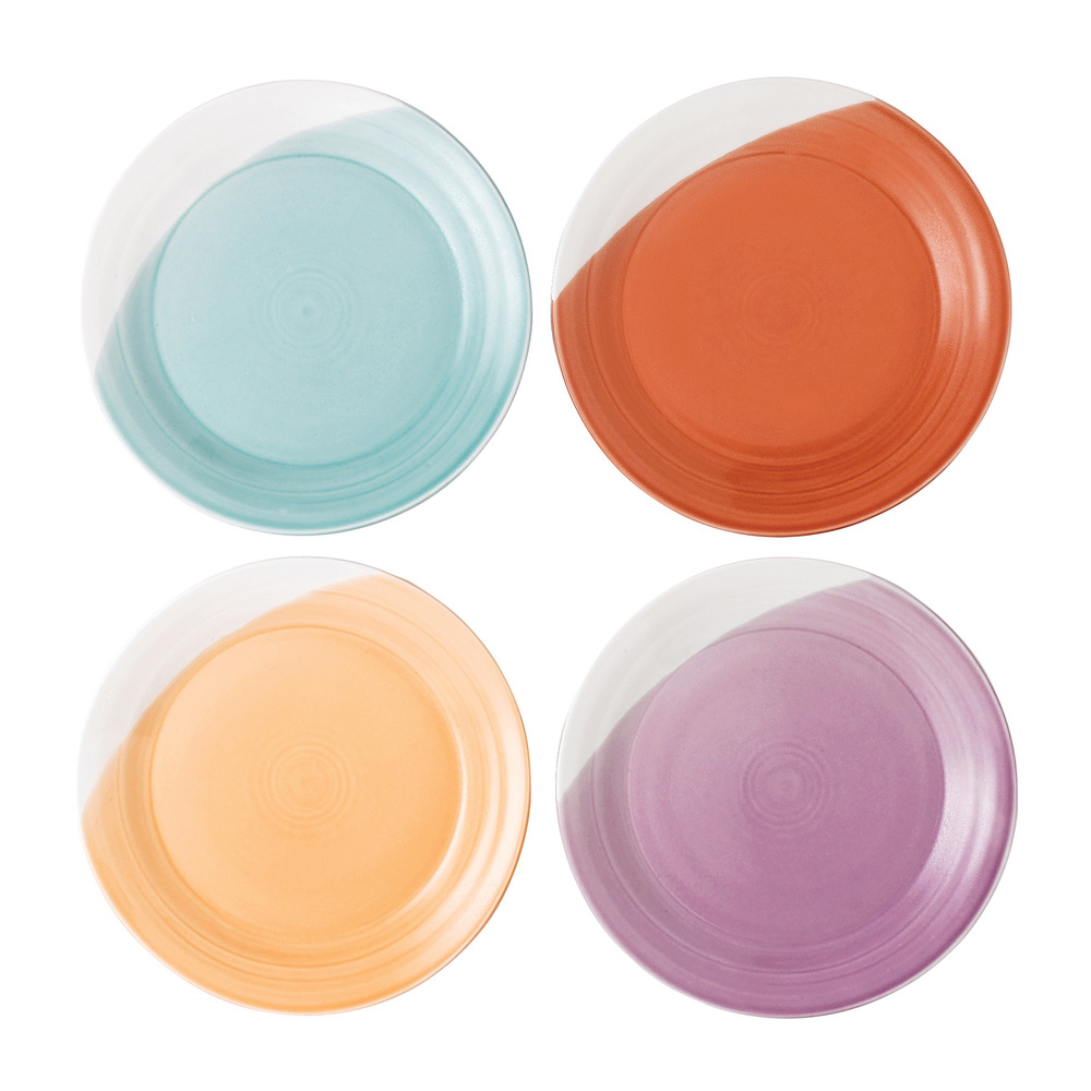 You can't knock these dip dye dinner plates from Royal Doulton. Forget Ikea basics!  Royal Doulton 1815 set of 4 Dinner Plates, £30