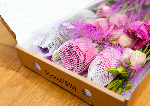 Think those beauty subscription boxes, but with flowers. They fit through the letterbox and everything! Postable flower subscription from Bloom & Wild, from £13.95