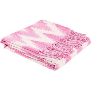It's pink. It's got a cool print on it.Ikat Blanket, Zara Home, £29.99