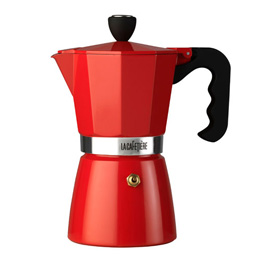I have no idea how these things actually work but I'm sure he does. This will look great in his kitchen. La Cafetiere Classic Espresso maker, 3 cup, £28