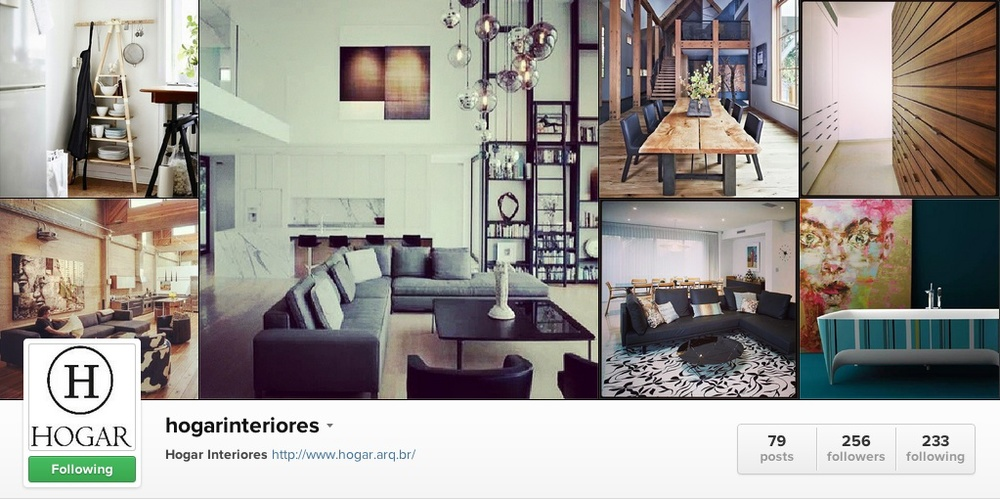 5 of the best interior inspiration accounts on instagram for Interior design instagram hashtags