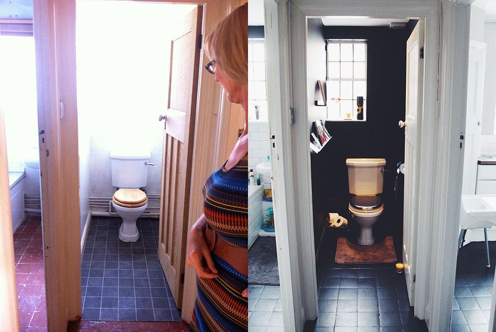 Before After Toilet Room Sarah Akwisombe