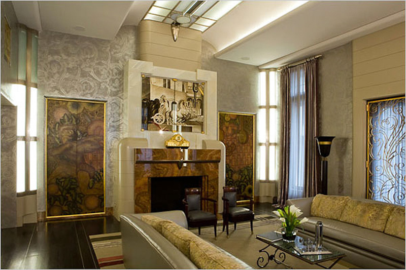 Art deco style 101 for Art deco sitting room