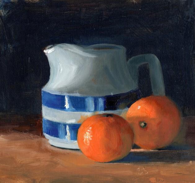 Steve Strode - Oranges and Cornish Jug
