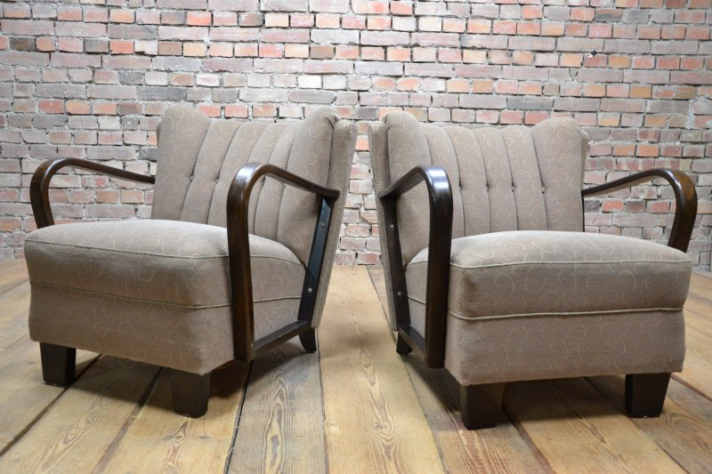 Charming Art Deco Vintage Armchairs