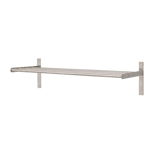 Grundtal shelf from Ikea, £18