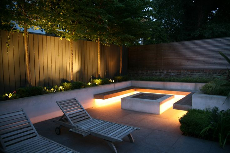 5 beautiful garden lighting ideas - Eclairage jardin led ...