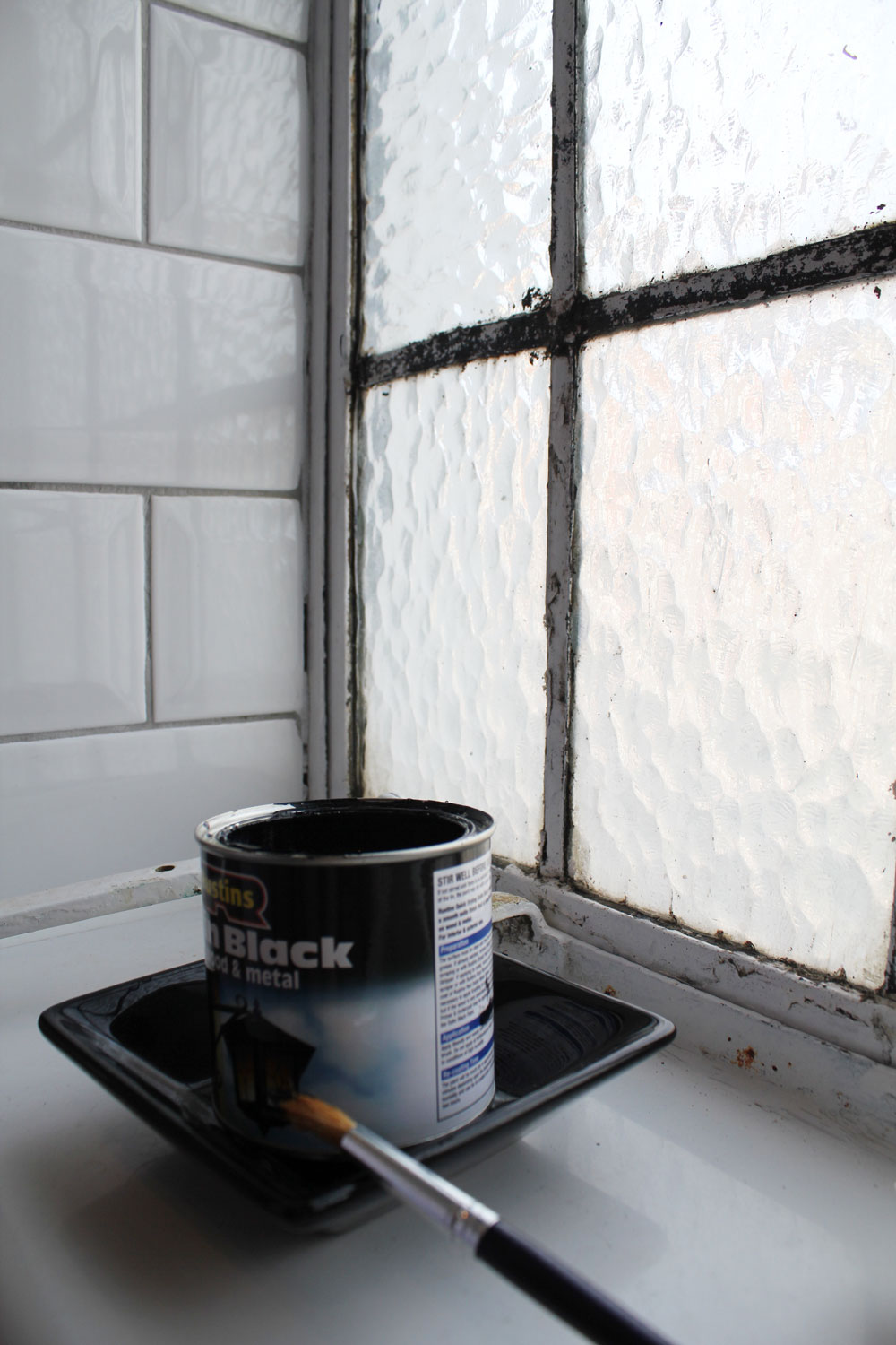 Painting crittal windows