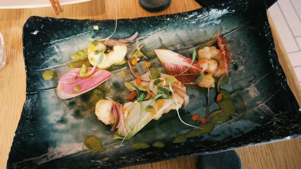 prawn tempura chotto matte