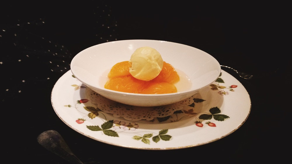 poached apricots marco white