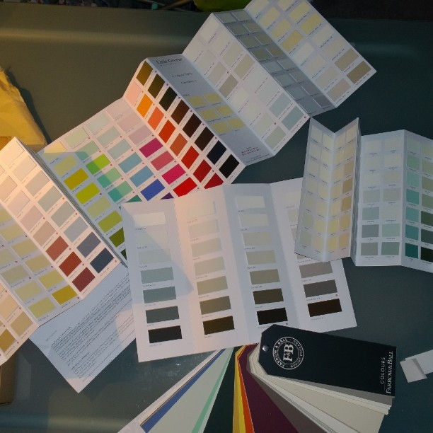how to test new paint colour ideas