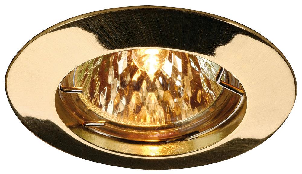 brass spotlights