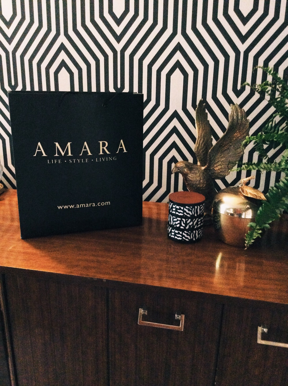 amara interior blogging awards winners goodie bag