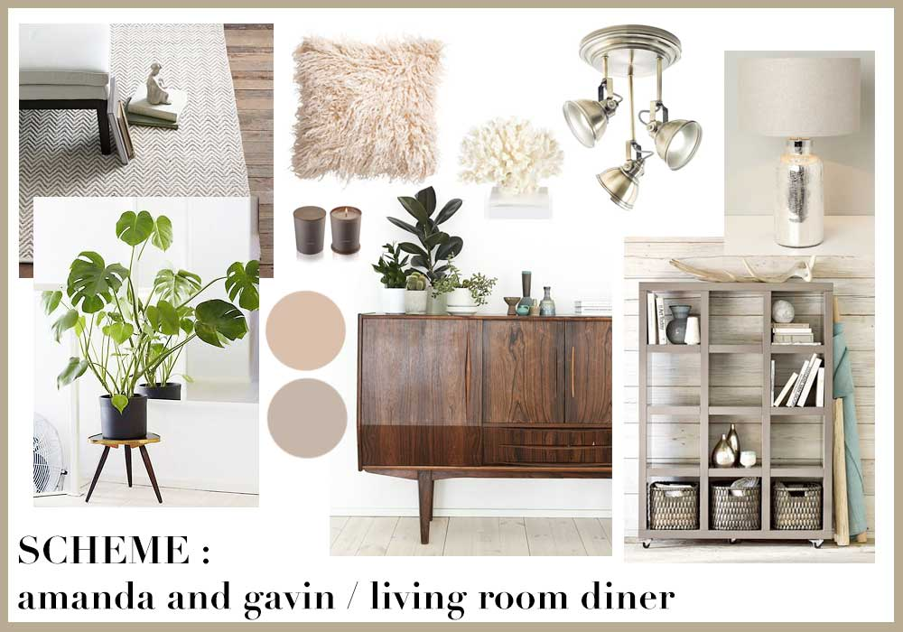 neutral living room scheme