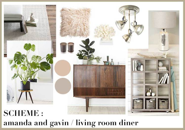 INTERIOR DESIGN PROJECT AMANDA AND GAVINS LIVING ROOM DINER
