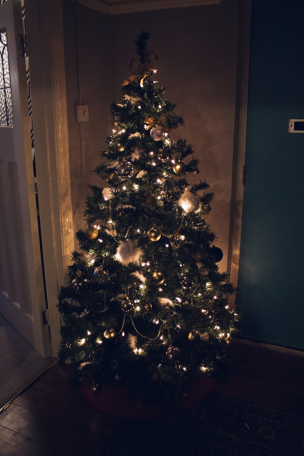 luxury xmas tree
