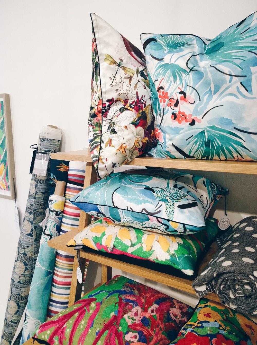 heal's cushions