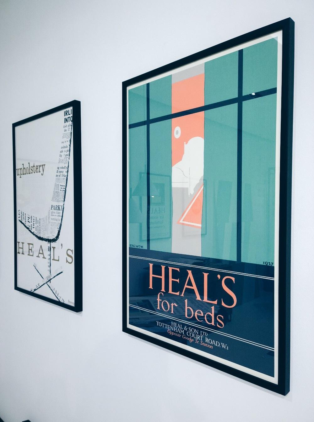 retro poster ads