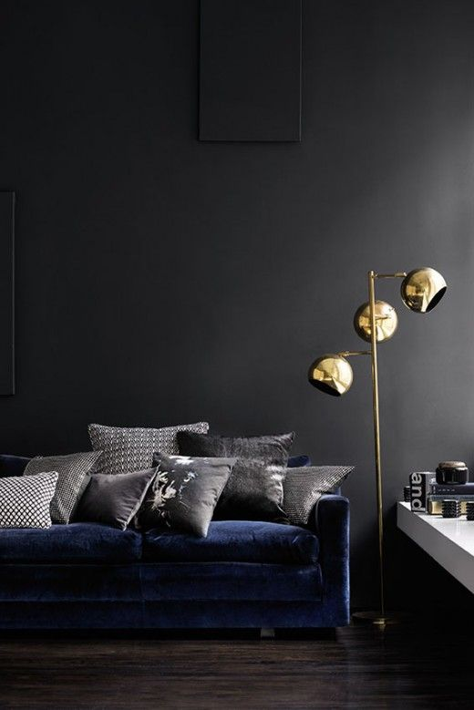 brass interior design metallics