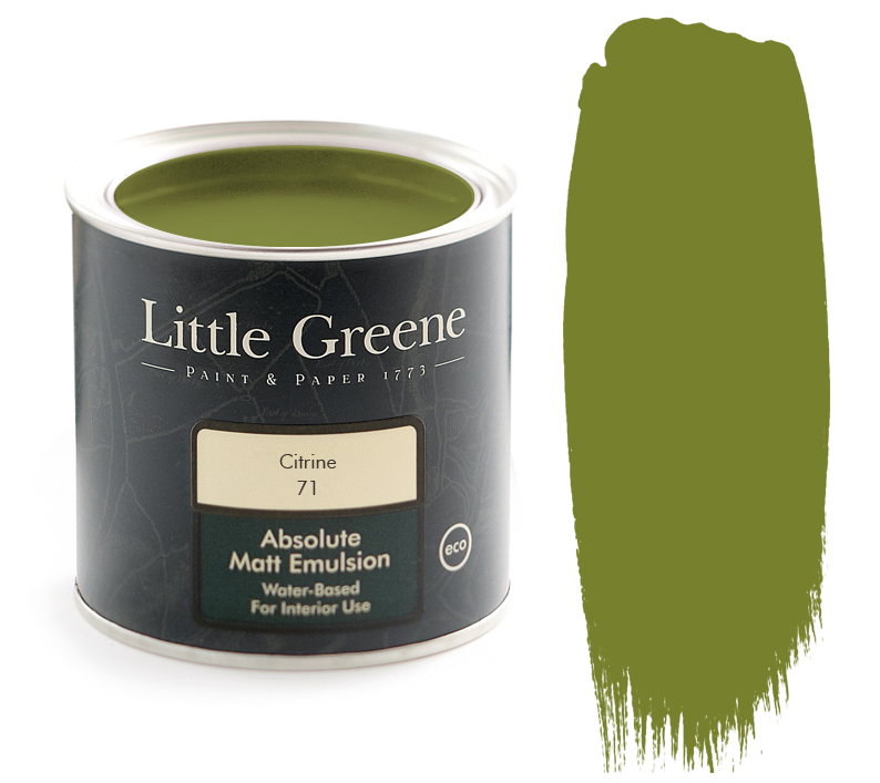 olive green paint