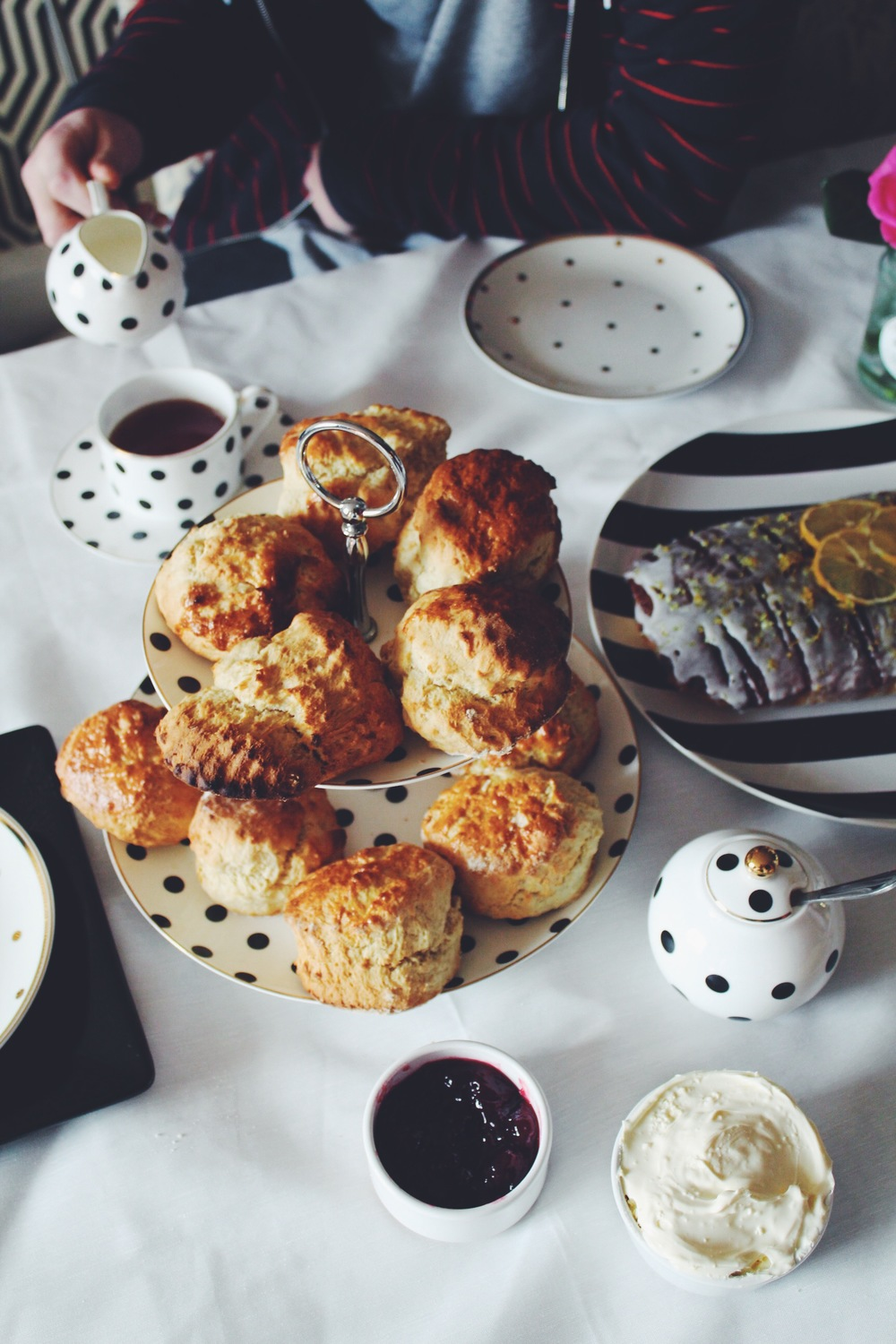scones tea party