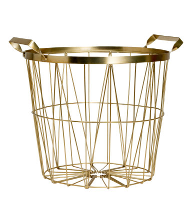 brass bin